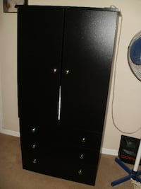 FURNITURE : CLOTHING ARMOIRE WITH 3 DRAWERS AND ROD : BRAND NEW! MARIETTA