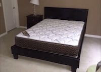 Brand new black queen bed frame also available in grey!  Phoenix, 85308