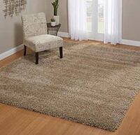 Thomasville Luxury Tan Shag 5x7 Area Rug - Delivery Available $95 Irvine