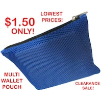 WALLET POUCH (MULTI-PURPOSE TYPE) *2019 YEAR CLEARANCE SALE, Super Cheap Prices at $1.50 each only!* Singapore