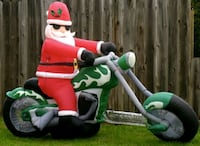 Christmas yard blow up Red Lion, 17356