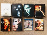 """DVDs From The Hit Series """"24"""" - almost the complete series!!! Denver"""
