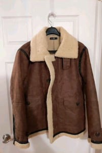 New Sherpa Aviator Jacket