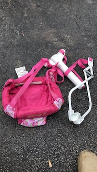 Toddler's pink and white trike Frederick, 21704