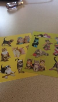 Kitty stickers Clearview, L0M