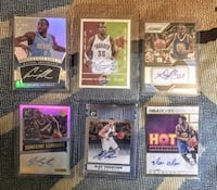 Mint Warriors Autographs set! Durant, Klay, Igoudala, Draymond, legend Joe Smith! Incredible 6 auto set   San Francisco, 94114
