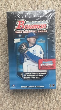2007 bowman baseball wax hobby factory sealed box NIB Broken Arrow, 74014