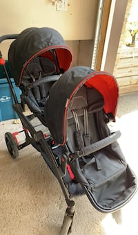 Almost NEW Contours Double Stroller