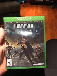 Final fantasy 15 for Xbox one Pickering, L1W 1Y2