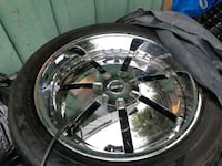 Rims and tires 24 inch  Surrey, V3R 6X3