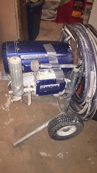 blue and gray Campbell Hausfeld air compressor London, N5Z 1N7