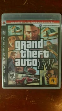 GTA 4 ps3 factory sealed  Saint Thomas, N5P 2V9