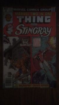 The Thing and Sting Ray 2 in 1 #64 June Comic Book Baltimore, 21223