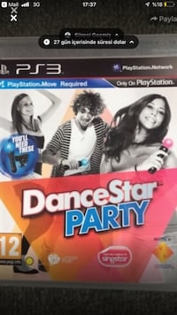 Dance star party - Ps3 Move oyun Osmangazi, 16090