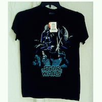 NEW YOUNG MENS SMALL STAR WARS GALACTIC DUAL SHIRT