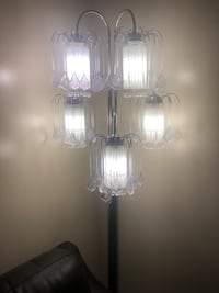 Selling in good  condition beautiful floor lamps Toronto, M1G 1R9