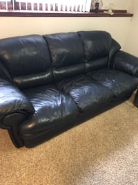 Leather Couch and Chair  846 mi