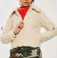 New small faux shearling jacket  Toronto, M2N 7C3