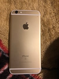 gold iPhone 6s with box 2290 mi