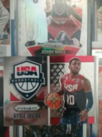 Kyrie Irving trading card