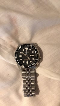 seiko automatisk divers watch, lite & pent brukt, nypris 5900