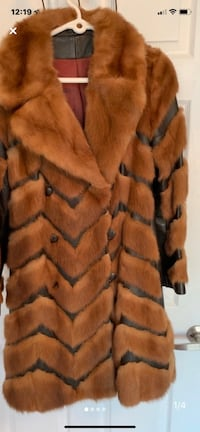 Fur and leather coat Mississauga, L4Z 4K1
