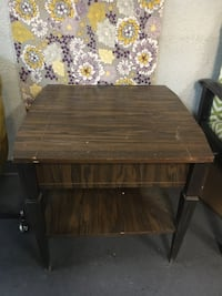 Two Wood Tables