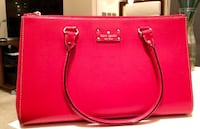 Kate Spade red leather purse