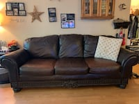 Brown Leather Couch from Ashley Furniture Toronto, M1N 1K9