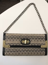 blue and brown leather crossbody bag Miami, 33135