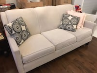Ivory Couch Set (3pc) Puslinch