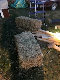 Two free hay bails  Spruce Grove, T7X 1Y3