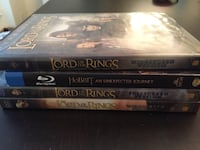 Assortment of 4 Lord of the Rings DVD's  Woodbridge, 22193