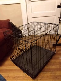 Brand New Dog Cage for pups up to 45-55lbs/give or take depends