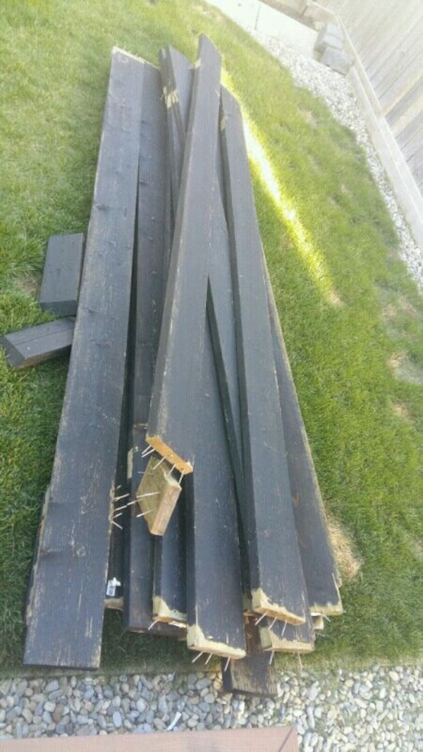 Used Pressure treated lumber 2x8x10 (16) for sale in Calgary - letgo
