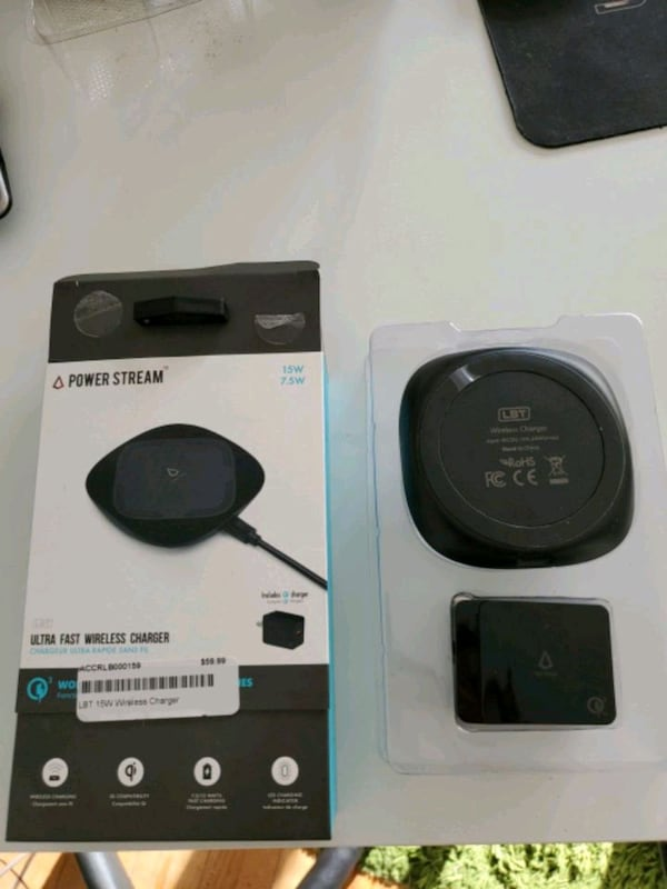 Ultra fast wireless  charger  48200096-ee76-40c1-8fd0-33623695dc36