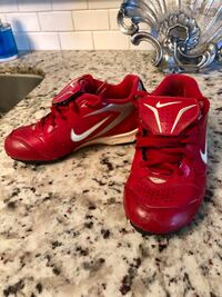 USED NIKE BASEBALL CLEATS LOW, RUBBER BOTTOM WITH LACE FLAP Miami, 33184