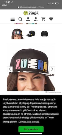 Zumba accesories (hat, towel, necklace, waistband)