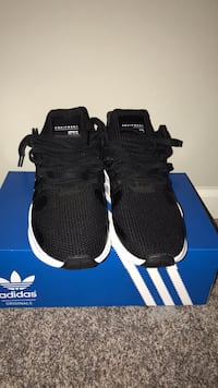 pair of black Adidas NMD shoes with box Missouri City, 77489