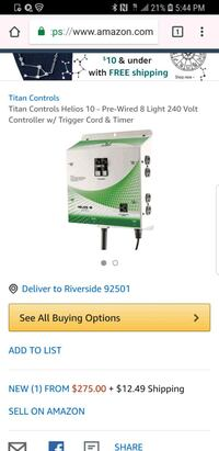 green and white Coleman portable gas stove screenshot Los Angeles, 90033