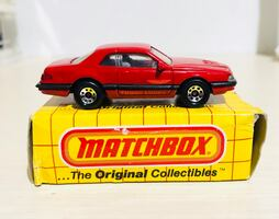 1987 MATCHBOX SUPERFAST FORD T-BIRD TURBO COUPE NEW IN BOX