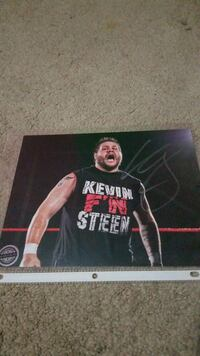 WWE Kevin Owens/Steen Autograph