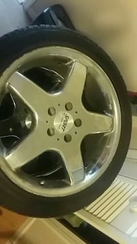 18in rims low pro tires good tred