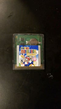 Nintendo Game Boy Super Mario game cartridge