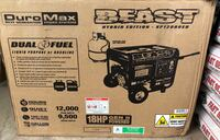 Brand New DuroMax XP12000eh The Beast Dual Fuel Generator Port Saint Lucie, 34953