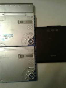 2PanasonicDvdCd-Players,and-1SonyDvdCd-player