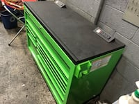 black and green tool chest Greenbelt, 20770