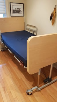 Custom 3/4 Size Hospital Bed.  1 Year New. TORONTO