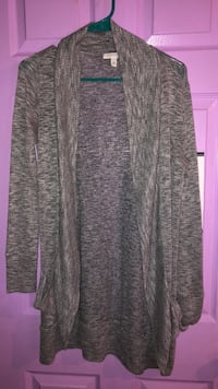 Gray and black long sleeve cardigan Mount Airy, 21771