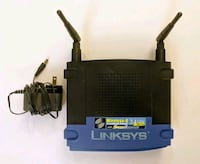 Cisco Linksys Wireless Router 54Mbps 4-port 10/100 San Mateo